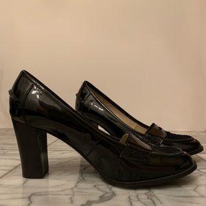 NWOT Ellen Tracy gorgeous black pumps Sz 8